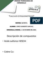 CALCULOS ESTEQUIOMETRICOS55555