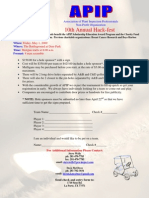 2009.05.01 APIP Golf Tournament Flyer