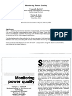 Monitoring Power Quality
