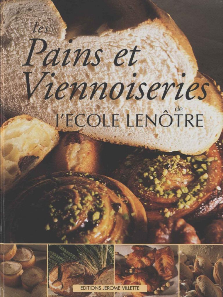 0dde6c533f6a les Pains et Viennoiseries de L ECOLE LENÔTRE