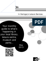 What's on in Haringey Libraries May 2013