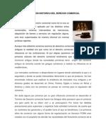 EVOLUCIÓN HISTORICA DEL DERECHO COMERCIAL