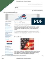 NDGOP Legislative Update