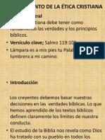 110418 7 El Fundamento de La Etica Cristiana