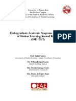 Annual Report OEAE - Academic Year 2011-2012 (4!19!13)