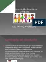 tÉCNICAS DE MODIFICACION DE CONDUCTAS