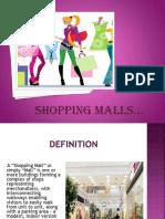 Shopping Malls Final