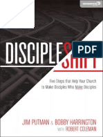 DiscipleShift by Jim Putman and Bobby Harrington