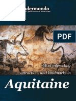 Landmarks and attractions in Aquitaine
