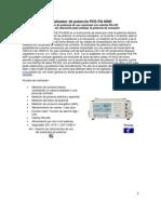 Analizador de Potencia PCE