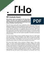 Mfi Graduate Award