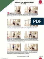 Exercises for a Bikini Body