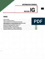 018[Manual] Nissan Tsuru 91-96 - Serie B13 Motor E16E Con ECCS (Suplemento) - Informacion General