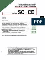 020[Manual] Nissan Tsuru 91-96 - Serie B13 Motor E16E Con ECCS (Suplemento) - Sistema de Combustible y Sistema de Control de Emision