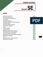 021[Manual] Nissan Tsuru 91-96 - Serie B13 Motor E16E Con ECCS (Suplemento) - Sistema Electrico