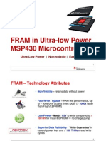 TI MSP430 FRAM Introduction