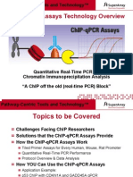ChIP-qPCR Assays Technology Overview