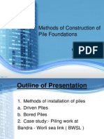 Pile Installation Methods_Bhushan