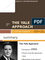 Topic 24. the Yale Approach