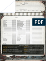 Black Crusade Character Sheet