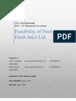 Fresh Fruit Juice Ltd