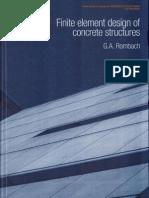 Finite Element Design of Concrete Structures, 2004 - G.a. Rombach