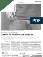 Cartilla de los derechos sexuales
