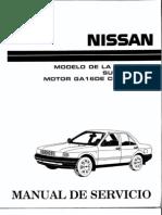 [Manual de Servicio] Nissan Tsuru 91-96 - Serie B13 Motor GA16DE Con ECCS