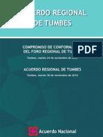 Acuerdo Regional de Tumbes-Marzo 2011
