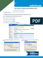 Configuracion de Correo en Outlook 2010