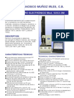 Dinamómetro Electrónico 5053-3M