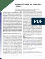 Anthony et al. 2008-acidificación y blanqueamiento