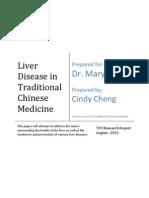Liver Disease in TCM