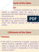Elements of the State.