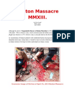 Chechen Terrorists Attack in Boston