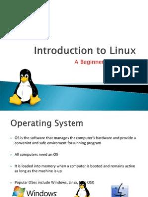 linux_seminar ppt | Linux | Shell (Computing)