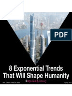 8 Exponential Trends That Will Shape Humanity