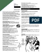 Boletín Parroquial II Domingo de Pascua - 7 de abril de 2013