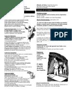Boletín Parroquial Domingo de Pascua de Resurrección - 31 de marzo de 2013
