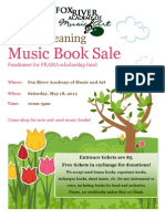 Spring Cleaning Book Sale 2013