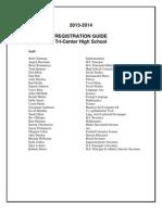 2013 2014Registration Booklet