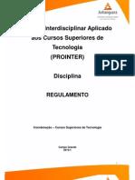 Tecs Regulamento 2013 1 Prointer i