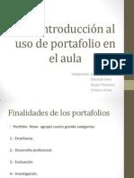 PPT Una introducción al uso de portafolio en el