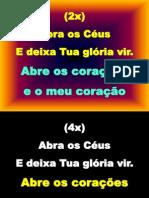 ABRA OS CÉUS E DEIXA
