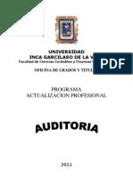 Separata de Auditoria Actualizacion2011