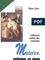 Clerc - Medecine, Religion Et Peur
