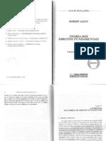 Alexy - TDF - Regras e Principios