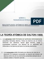 Magnitudes atómico-Moleculares