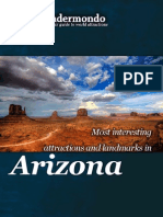 Landmarks and attractions of Arizona