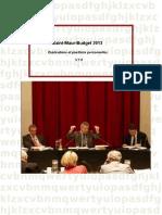 Budget Saint-maur 2013